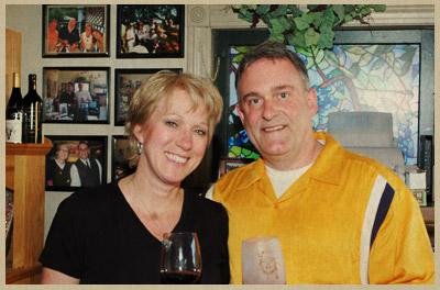 Photo of Mike and Kari